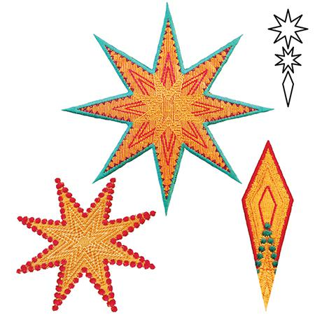 AccuQuilt GO! 8 Point Star AccuQuilt GO! 8 Point Star by Sarah Vedeler