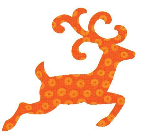 *AccuQuilt GO! Reindeer AccuQuilt GO! Reindeer