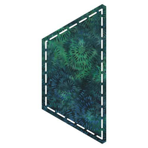 Accuquilt GO! Half Hexagon 4 1/2 Sides (4 1/4 Finished) Die - 55437
