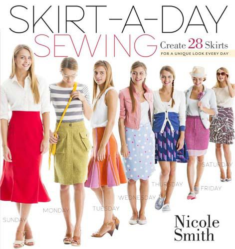 A SKIRT A  DAY SEWING BOOK