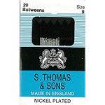 S.Thomas Betweens Needles - Size 9