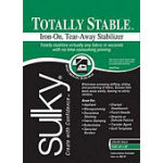 SULKY TOTALLY STABLE IRON ON