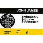 John James Embroidery/Crewel #6