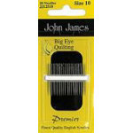 John James Big Eye Quilting #10 12ct
