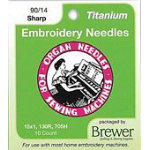 6686 - Organ Titanium Embriodery Needles