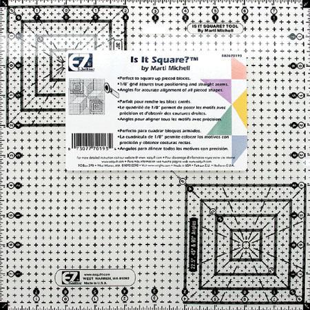Item#0093 - Ez is It Square? Ruler