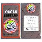 Organ Flat Shank 15x1 Regular Point sz100/16 10/pk