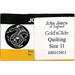 John James Gold'nGlide Quilting Needles - Sz11 - Envelope packaging12/bx