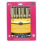 Micron Pen 8 Color Set 05 .45mm