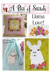 Llama Love Embroidery Designs