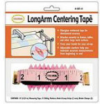 Long Arm Centering Tape Measure with Markers