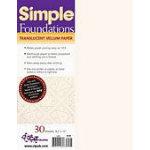 Simple Foundations Vellum Paper
