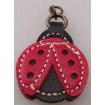 Zipper Charm Ladybug