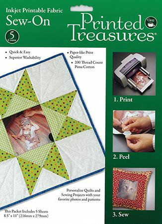 Printed Treasures Printable Washable sheets 5 Count