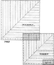 12 1/2 SQUARE-UP RULER