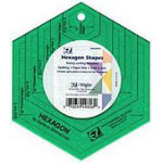 EZ Hexagon Acrylic Shapes 5in