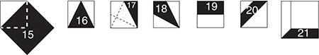 Set C Bounus Shapes 3Patchwork Templates
