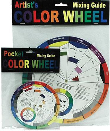 Artist's Color Wheel 9in