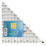 Easy Angle Triangle Ruler 6.5 in 8823759A