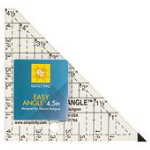 Easy Angle Ruler 45-degree 4-1/2in