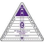 60d Triangle Ruler 2-6in