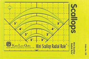 Mini Scallop Radial Rule and handbook
