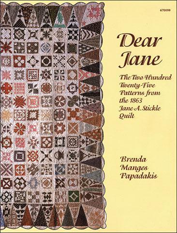 Dear Jane Book