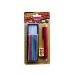 Mechanical Chalk Pencil Refiliable Cartridge set