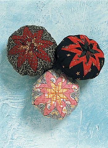 Folded Star Pincushions