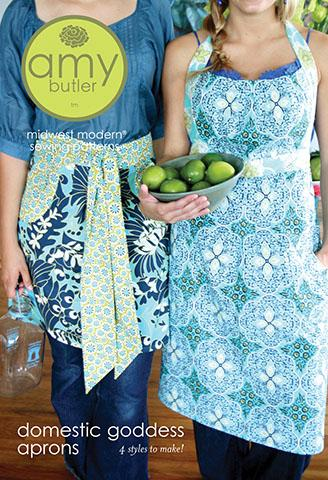 Amy Butler Domestic Goddess Aprons