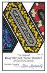 Easy Striped Tablerunner pattern