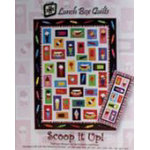 Scoop it Up Machine Embroidery by Lunch Box Quilts