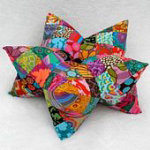 Harlequin Star Pillow Pattern