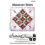 Mexican Stars Quilt Pattern - 34 1/2 x 34 1/2