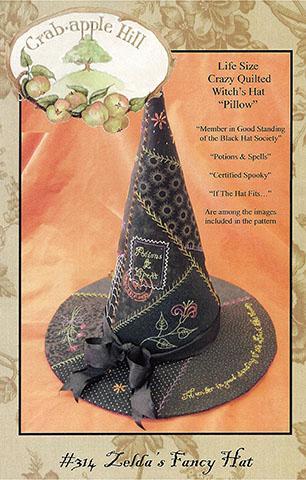 PT E Crabapple Hill Zelda's Fancy Hat Pattern