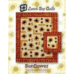 Sunflower - applique designs for embroidery machines