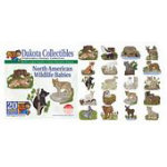 North American Wildlife Babies -  Dakota Collectibles Embroidery Design Collection