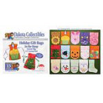 Holiday Gift Bags -  Dakota Collectibles Embroidery Design Collection