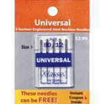 Schmetz Universal Needle Pack - 80/12