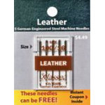 Klasse Needle Leather 100/16 Package 5 of Cards