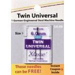 Klasse Needles Twin Universal 6.0MM/100