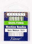 Klasse Quilting 75/11 6 Needles