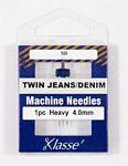 Klasse Twin Jean 4.0/100 1 Needle