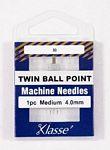Klasse Needles- Twin Ball Point 4.0/80