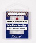 Klasse Twin Embroidery 2.0/75 1 Needle