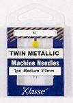 Klasse Twin Metallic 2.0/80 1 Needle