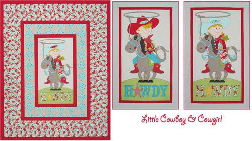 Little Cowboy and Cowgirl Little Cowboy and Cowgirl