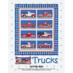 Trucks Quilt by Amy Bradley Designs ABD280