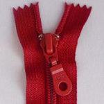 14 Zipper, True Red, Closed Bottom