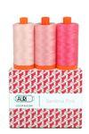 Aurifil Color Builder Sardinia Pink 3pc.